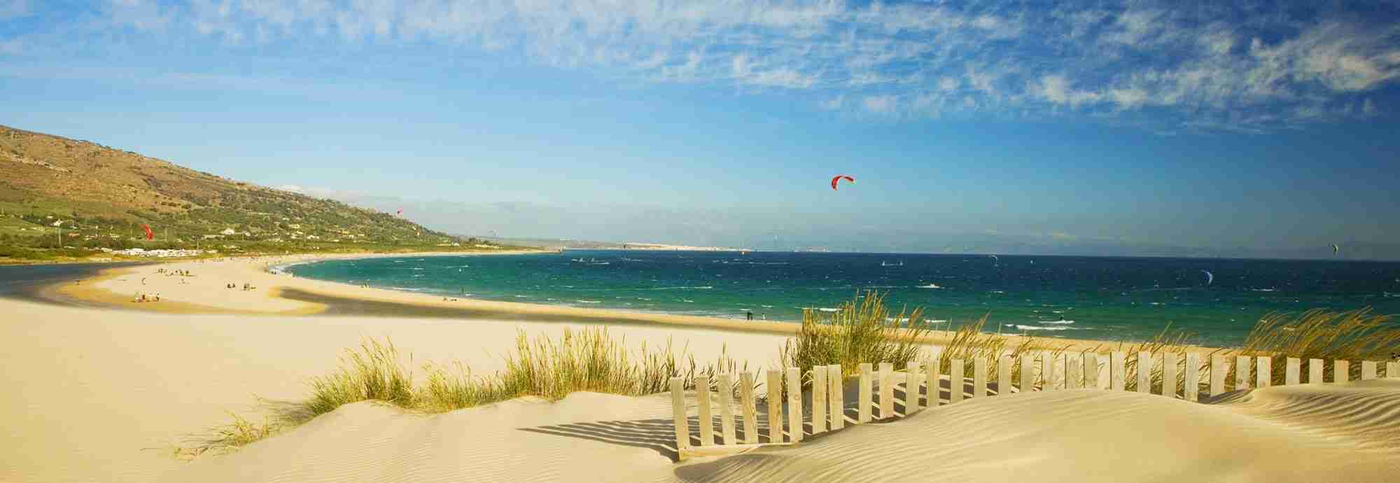 Walk into village or town Holiday  Villas in Costa de Luz Tarifa