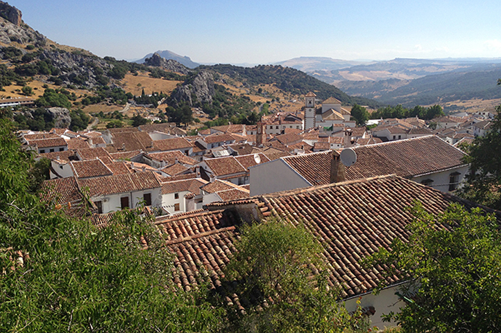 Grazalema from above