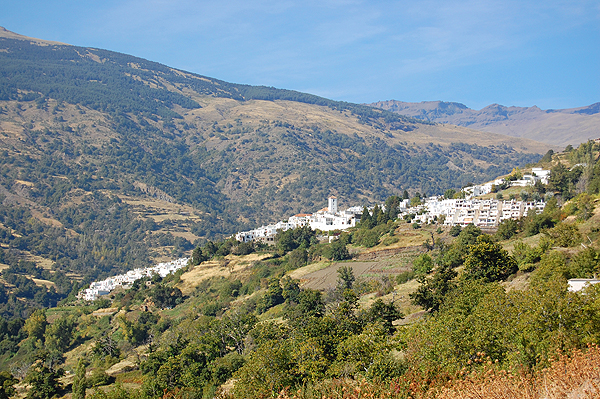 Capileira village in High Alpujarras