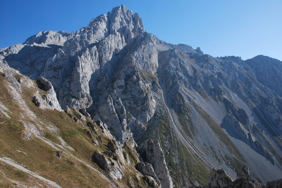Picos mountain range rivalling the Alps in scenery