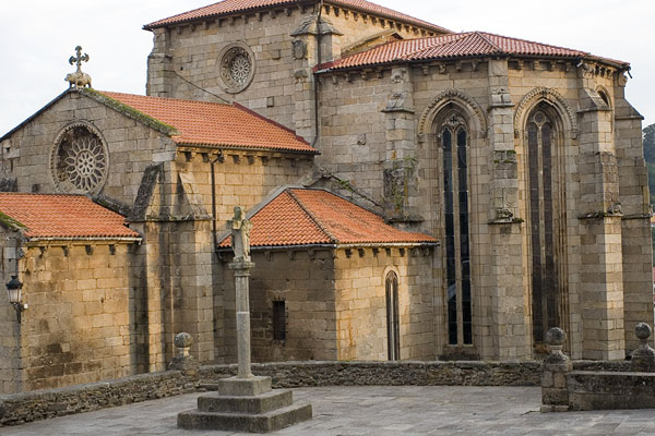 Historical Betanzos town in Galicia