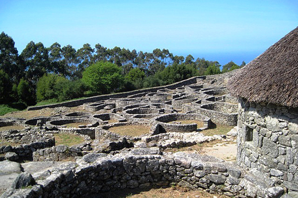 Celtic ruins of Santa Tecla