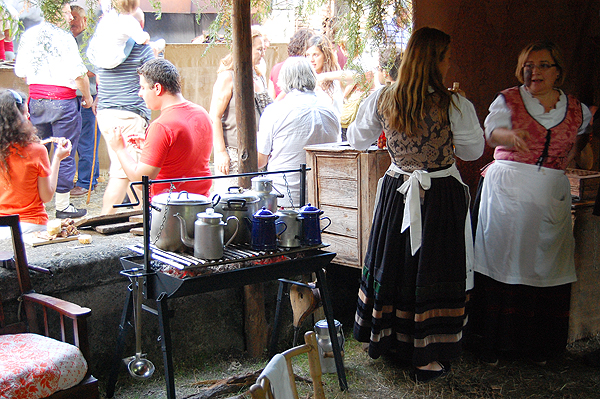 Medieval fair in Porrua, Asturias