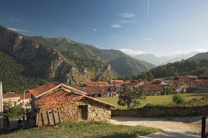 Mountain villages in Picos
