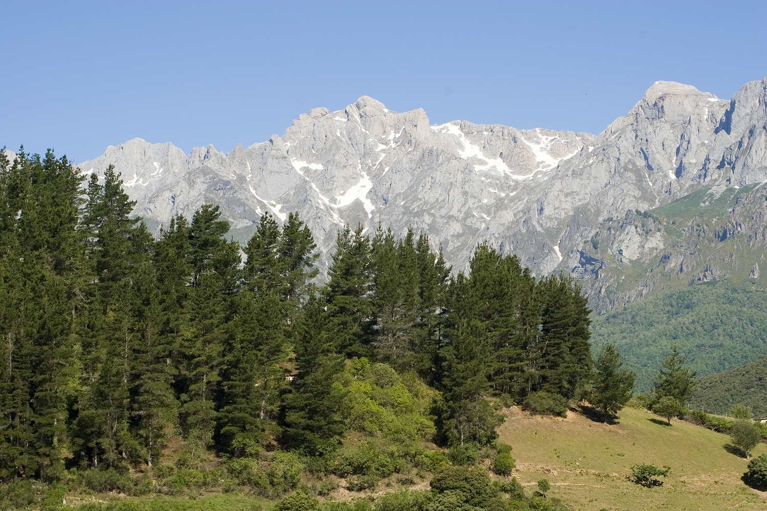 Picos views from Liebana valleys