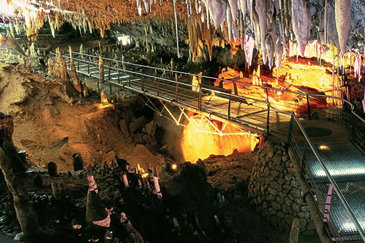 Soplao Caves