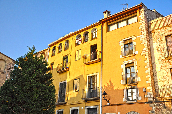 Old quarters of Girona city