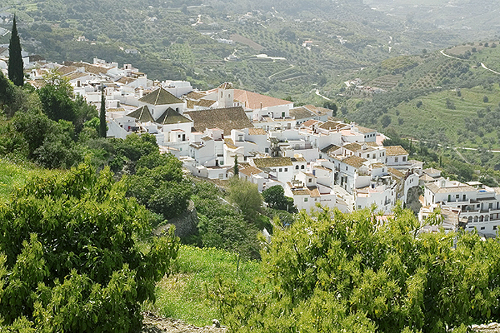 Frigiliana village in Malaga province