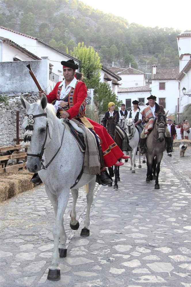 Local traditions at Grazalema Town