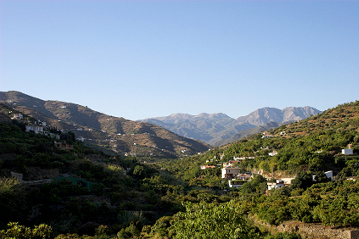 Axarquia mountains