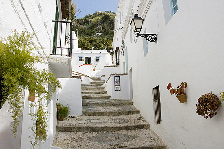 Frigiliana steep streets