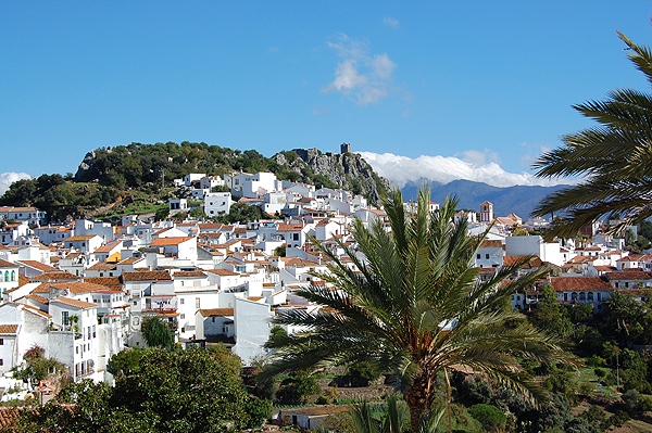 Gaucin village in the Ronda mountains