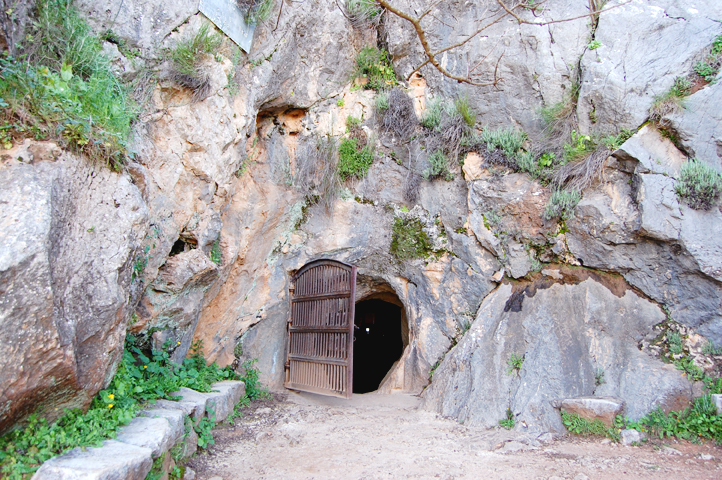 Entrance to La Pileta cave