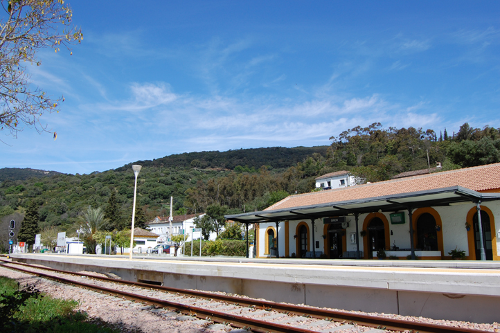 Gaucin train station - El Colmenar