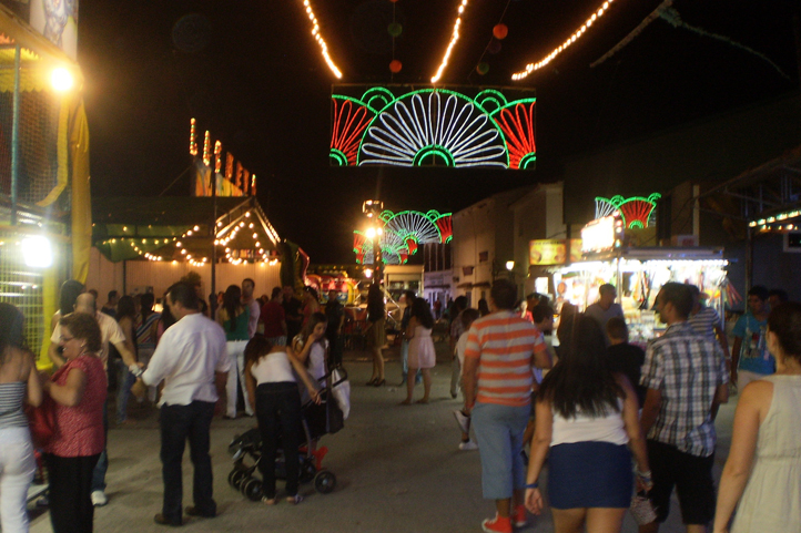 Summer fiestas in Gaucin