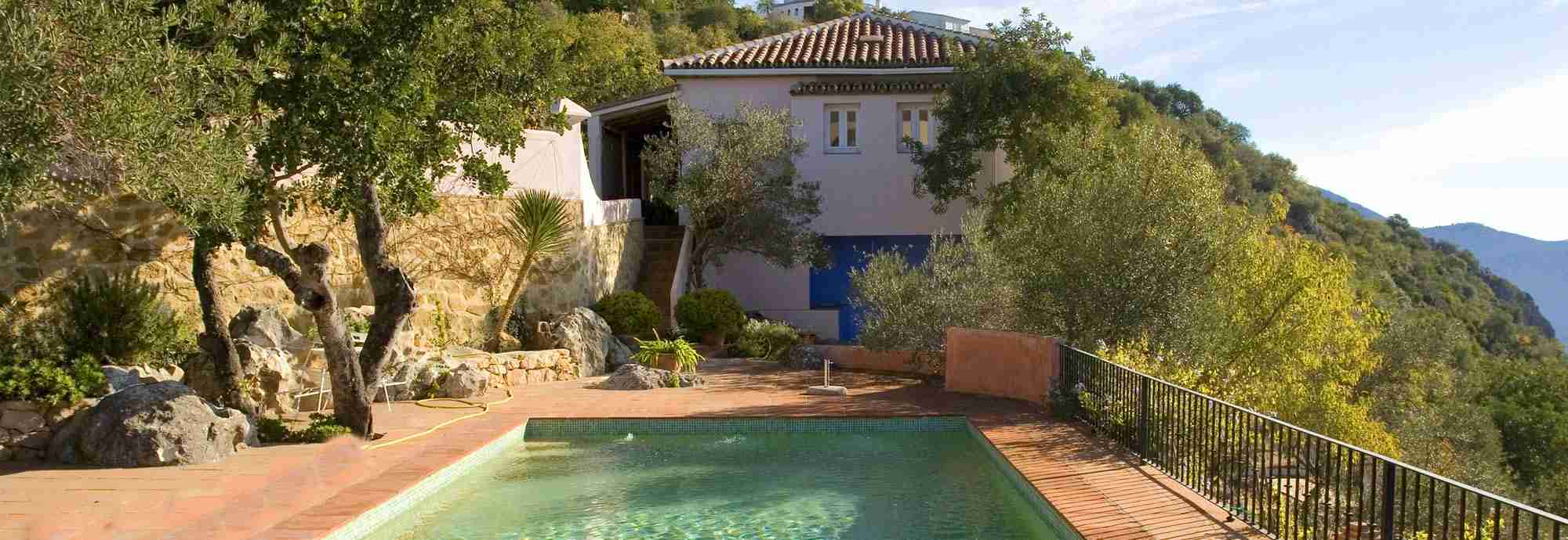 Gaucin holiday villa with private pool, Ronda mountains, Andalucia