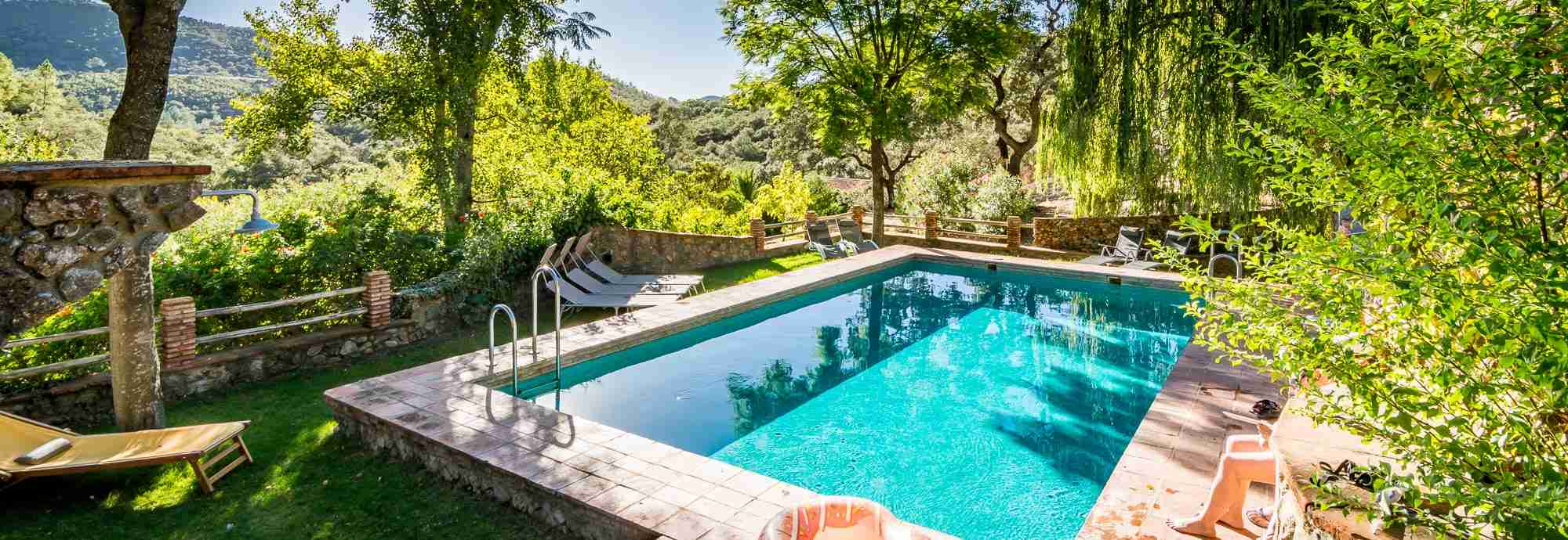 A cottage for two in lovely Andalucia estate with tennis and pool