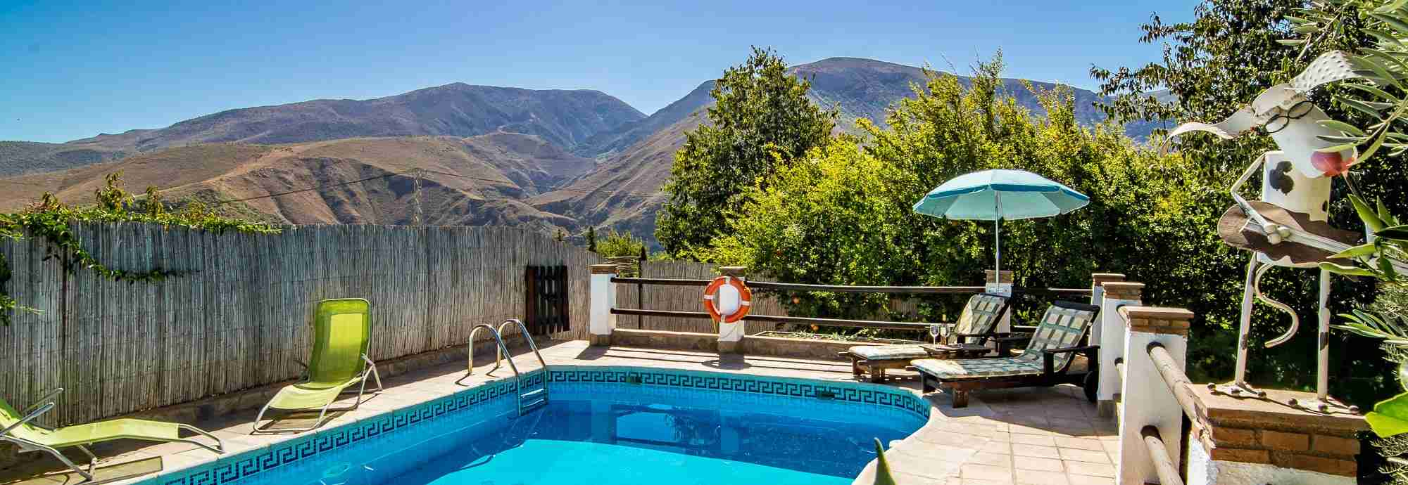 Private villa for 2 with pool, Alpujarras, Spain