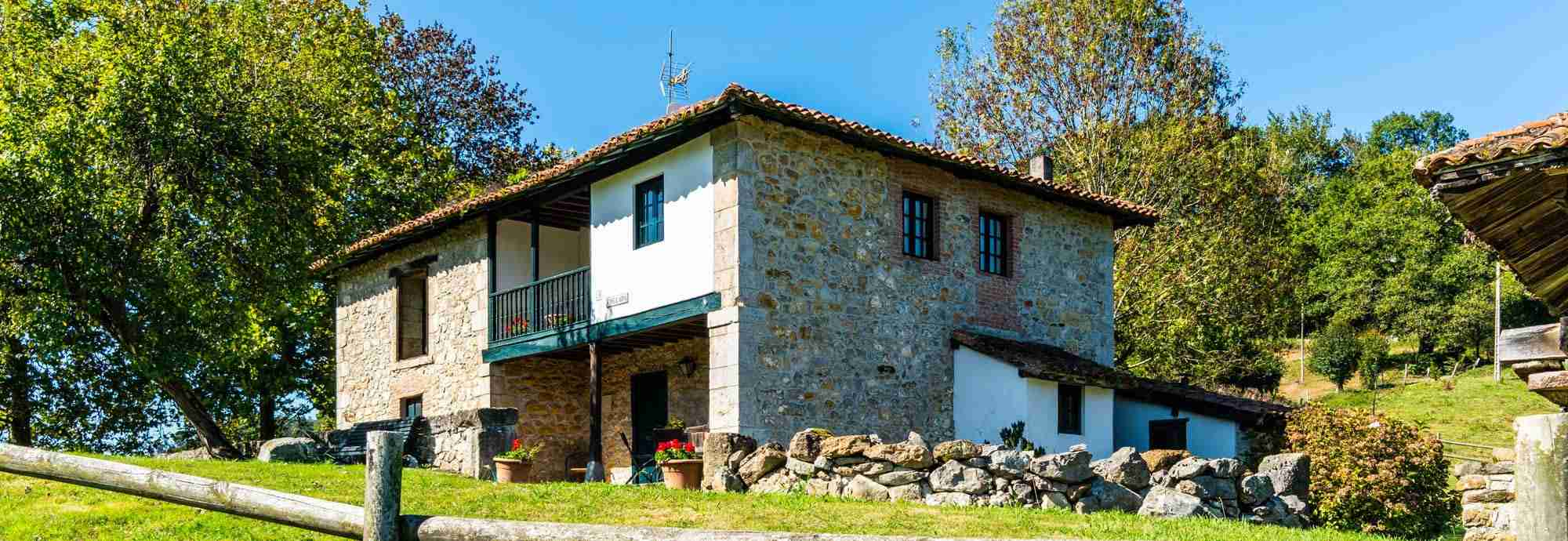 Secluded Asturias cottage for holidays in Northern Spain