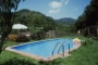 The swimming pool is shared with a one-bedroomed cottage