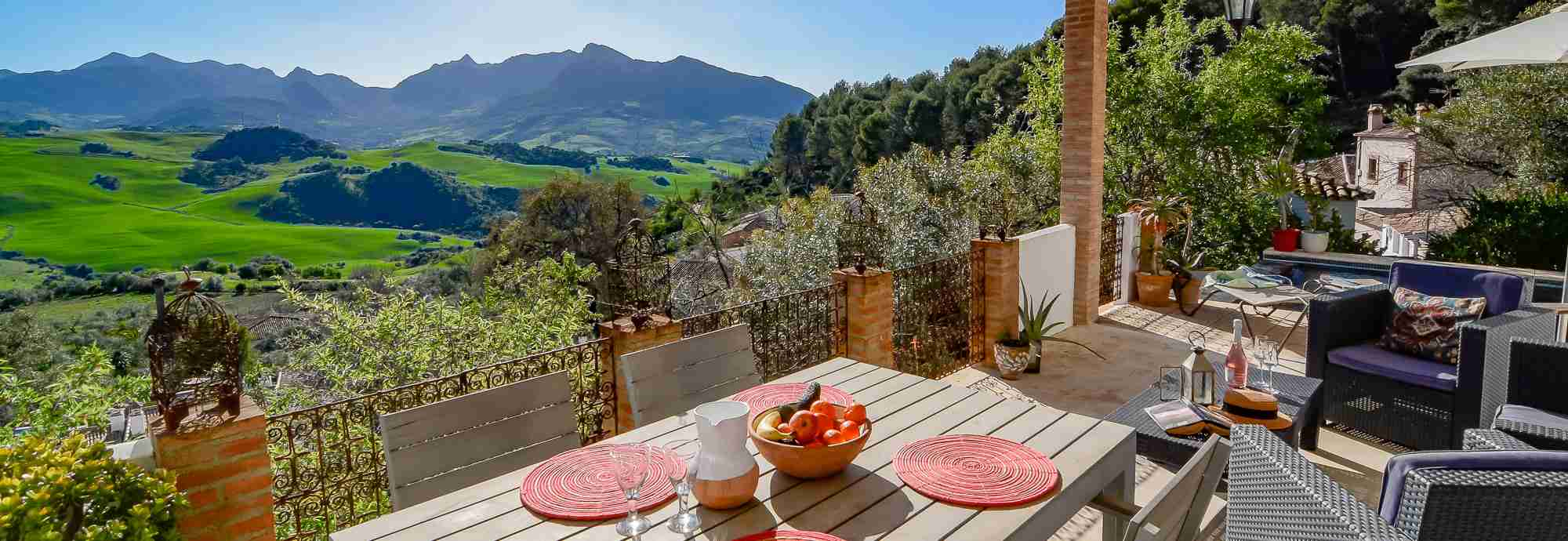 Gorgeous hideaway near Ronda with stunning interior design