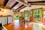 Living space / kitchenette in casita