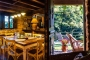 Indoor and outdoor dining living