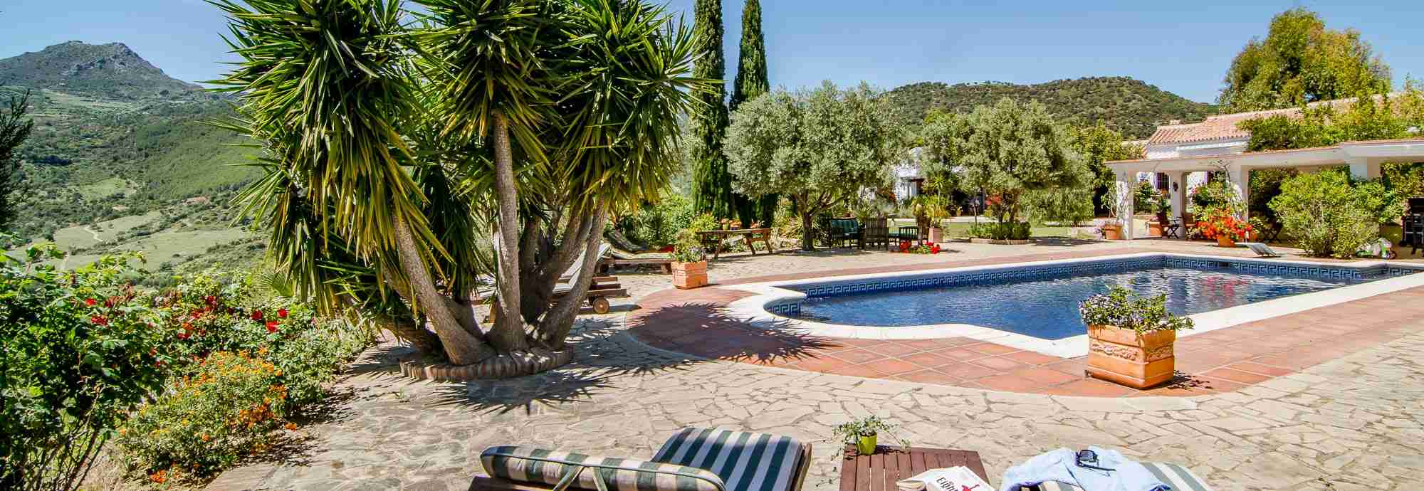 Tasteful Andalucia villa near Gaucin, the coast, and adventure parks