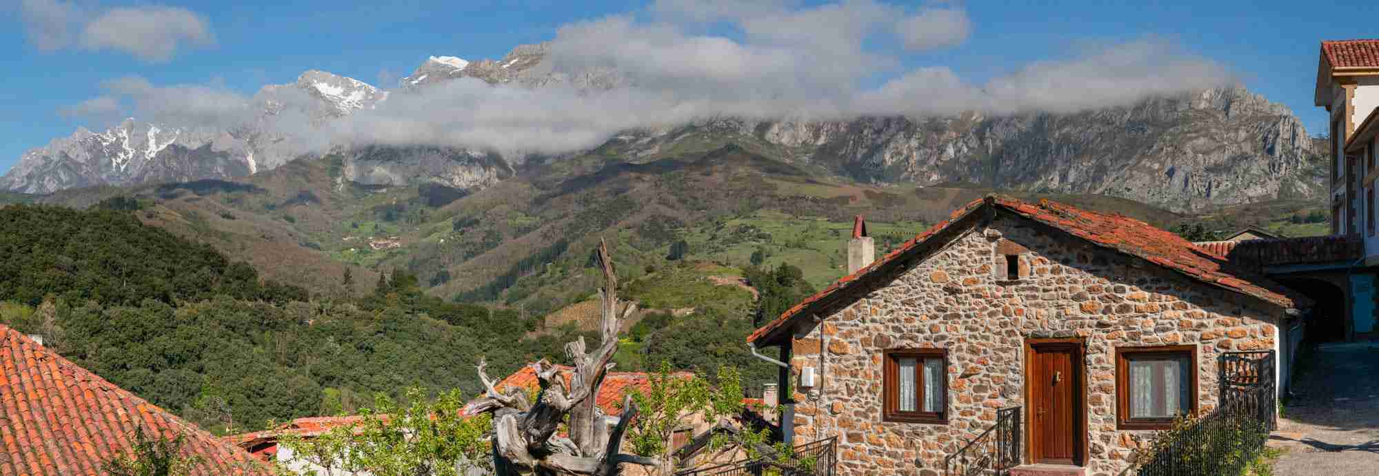 Rustical charm with best views of the irresistible Picos de Europa