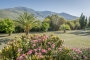 Villa grounds with views to Sierra Lujar