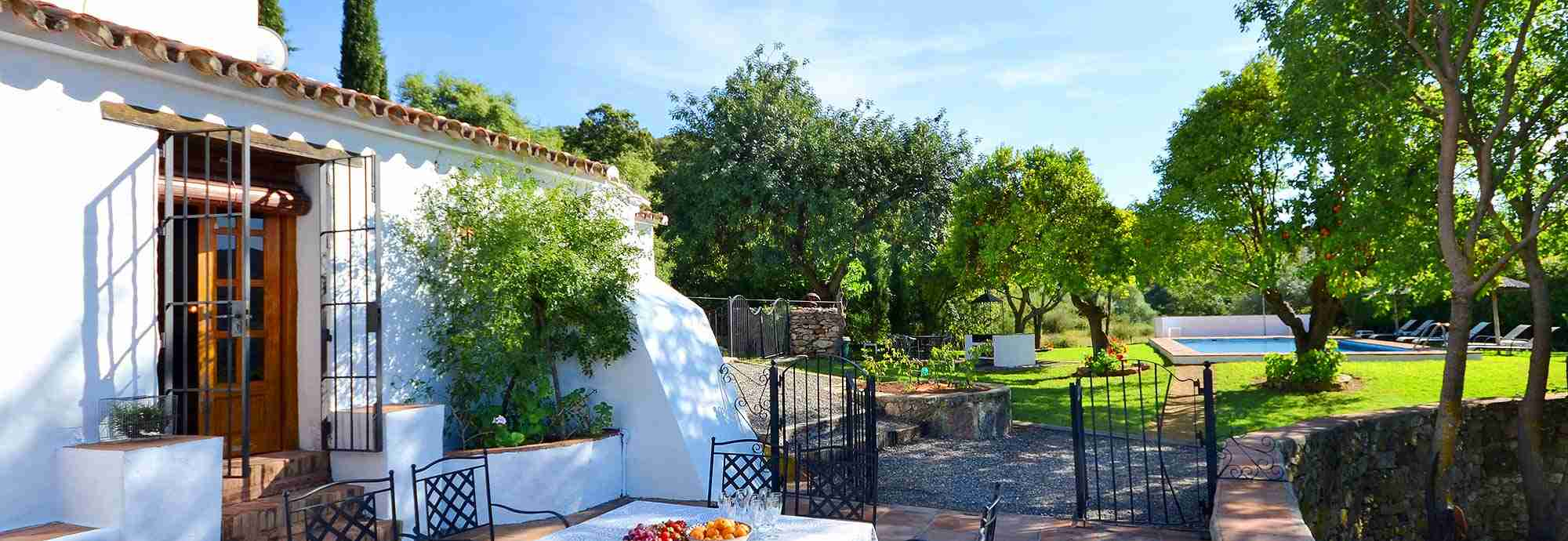 Andalucian villa with character in a very private country setting