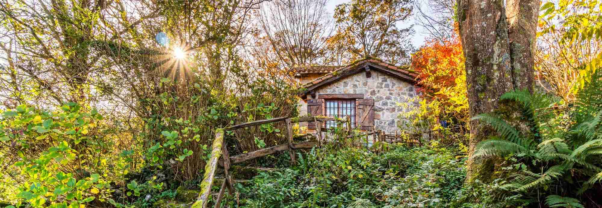The woodcutter's forest home, half an hour from Santander beaches