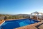 Pool terrace at villa AX26