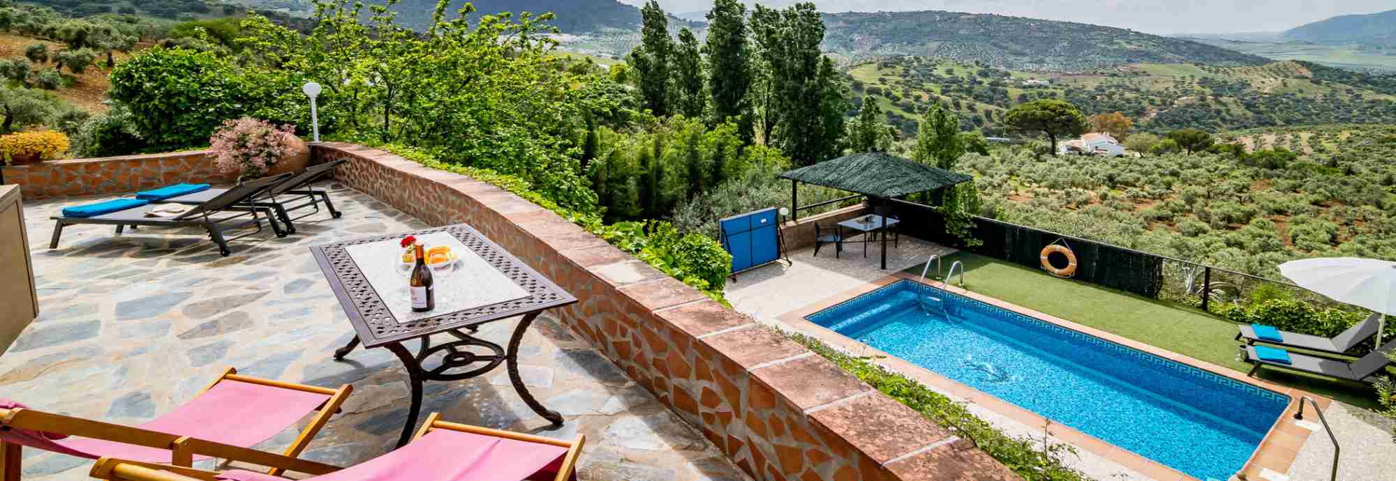 Rural Ronda villa for a couple deserving some rest & relaxation