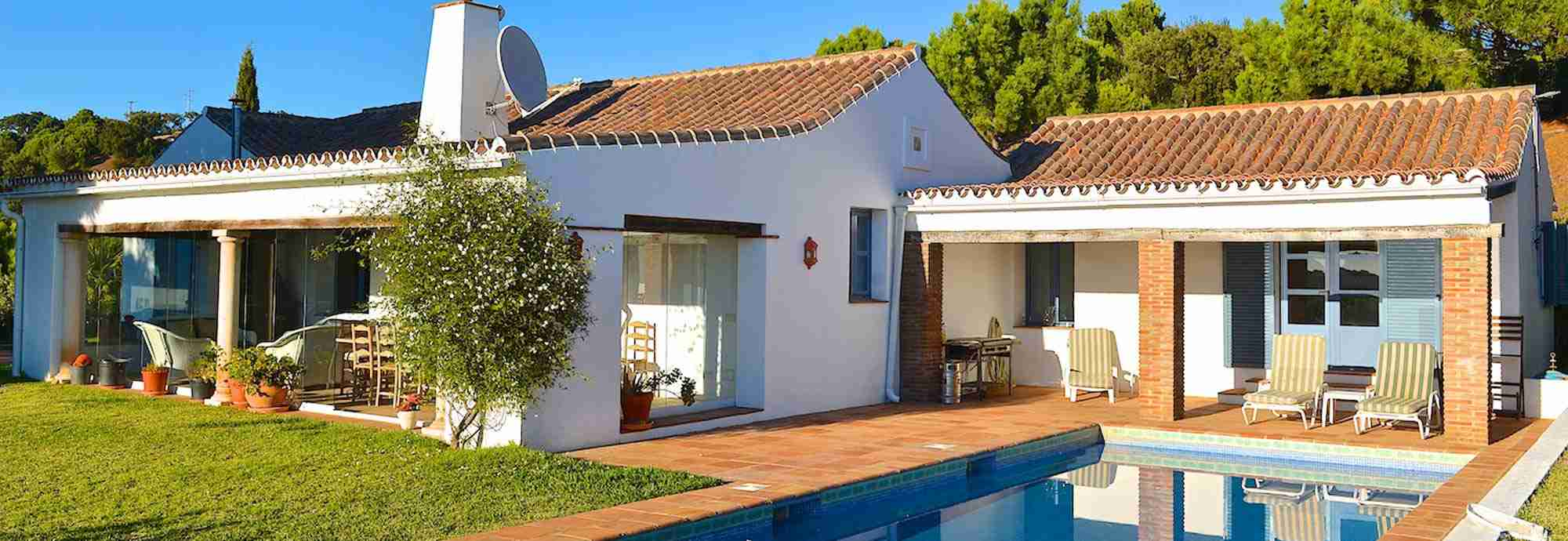 Private rural villa with Africa view close to Costa del Sol beaches