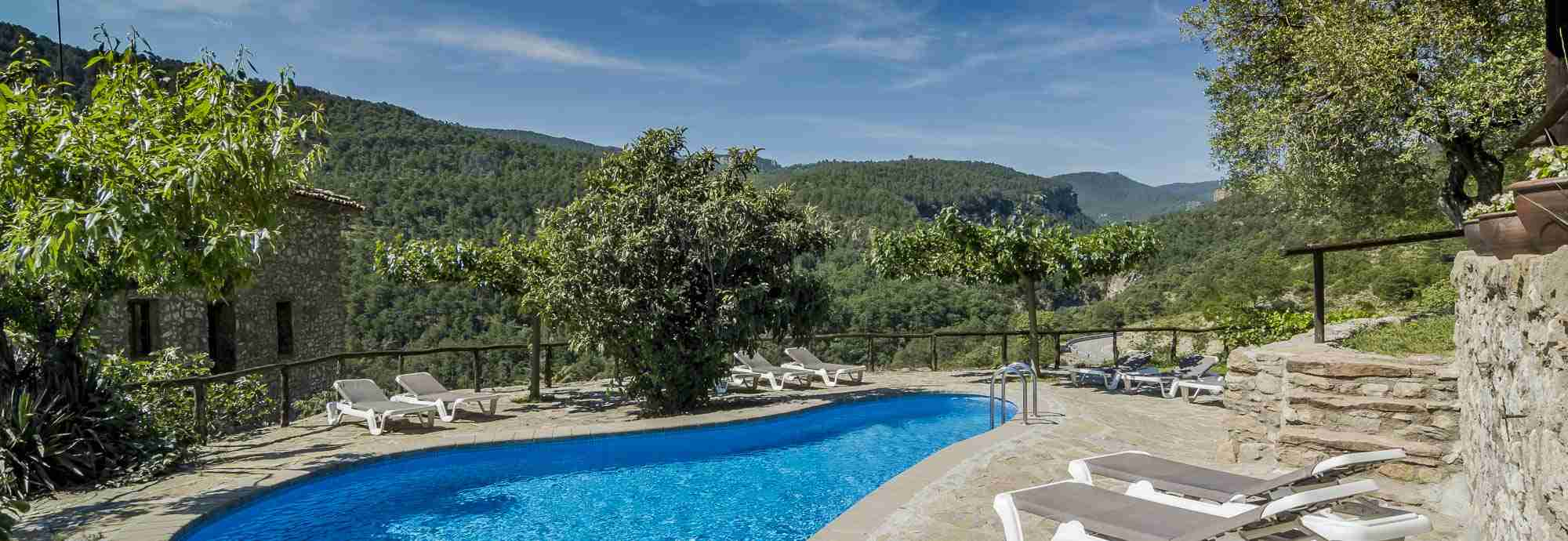 Superb 10th century villa with indoor & outdoor pools near Spanish Pyrenees