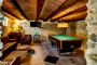 Games room with billiards