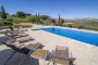 Ample pool area overlooking pretty valley