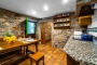 Kitchen retains its rustic character