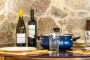 Enjoy superb local wine and food