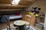 Childrens' attic bed-and-play room