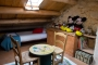 Attic children room (access by steep lader)