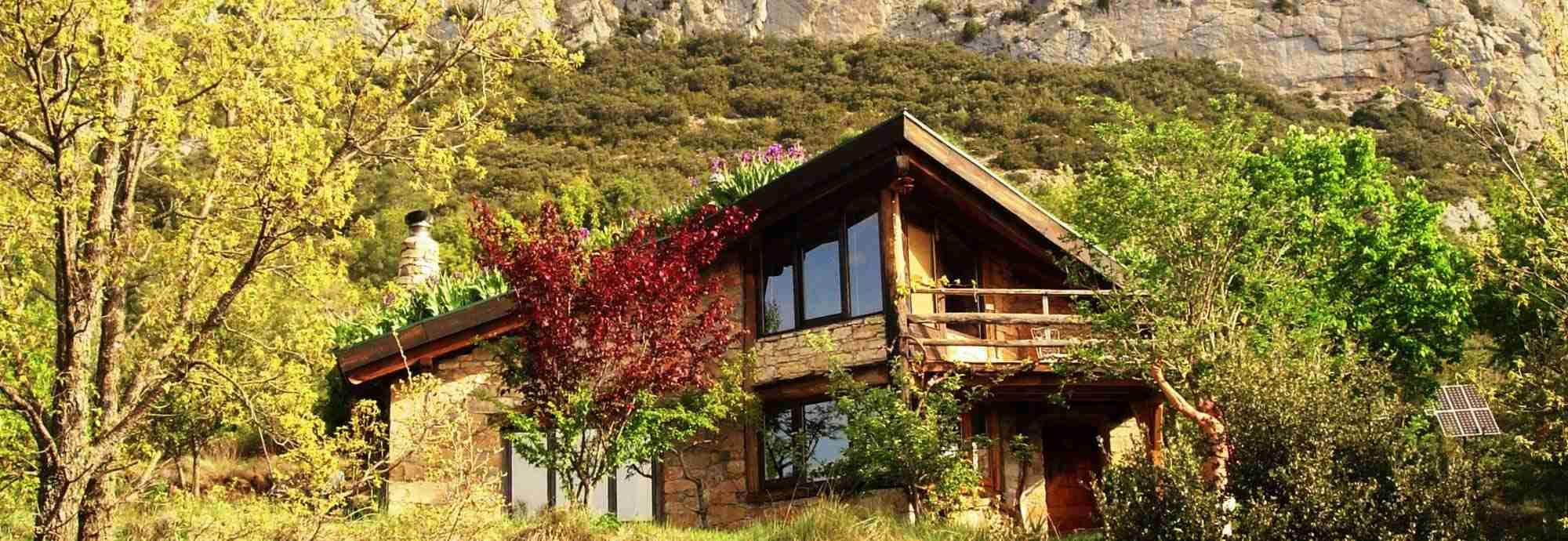 Eco holiday mountain retreat in Pyrenees, Catalonia, Spain